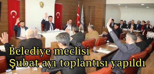 Akyazı Belediye Meclisi toplandı