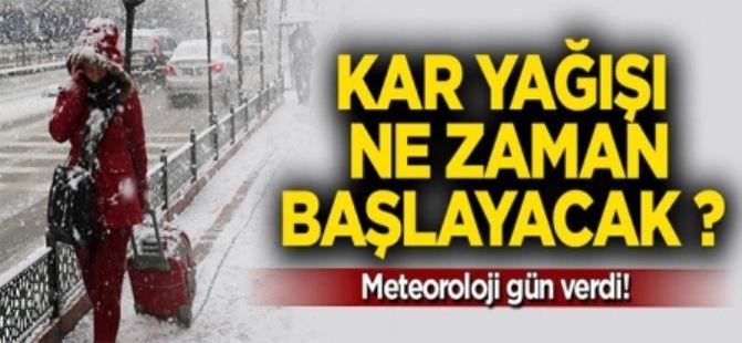Meteoroloji uyardı! Yarından sonra kar geliyor