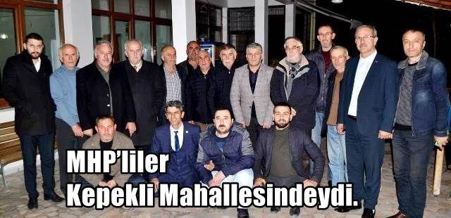 MHP'liler Kepekli Mahallesindeydi.