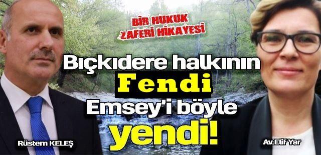 Bıçkıdere halkının fendi Emsey'i böyle yendi!