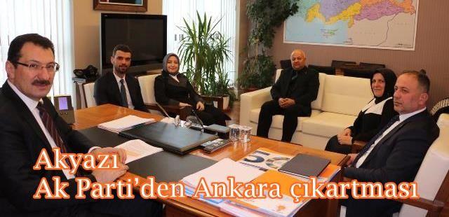 Akyazı Ak Parti'den Ankara çıkartması