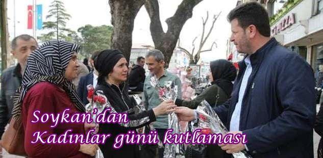 Soykan'dan Kadınlar günü kutlaması
