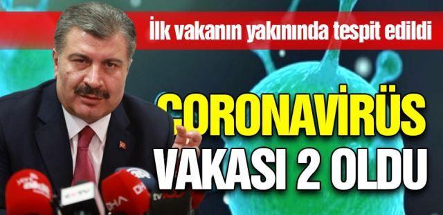 Türkiye'de 2'nci Coronavirüs vakası