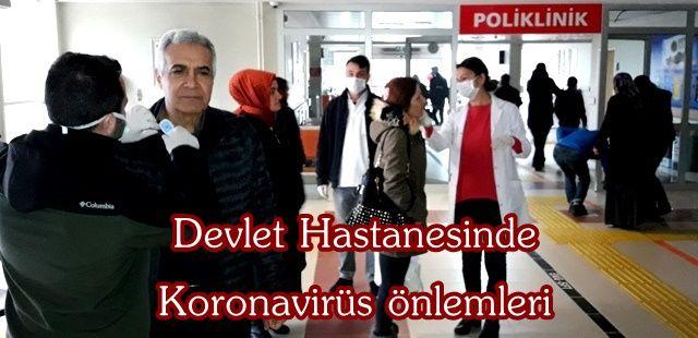 Akyazı'da Koronavirüs şüphelisi 6 kişi karantina uygulaması