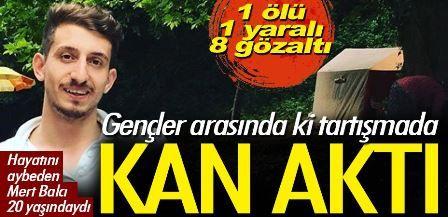 Hızırtepe'de Cinayet 20 yaşındaki genç öldürüldü