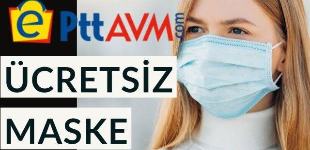 PTT ücretsiz maske dağıtıyor:ücretsiz maske siparişi nasıl verilir? Kimler kaç maske alacak