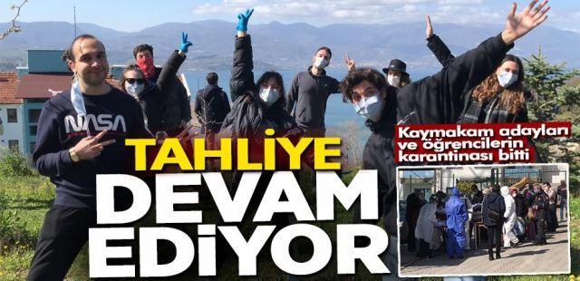 Tahliye devam ediyor! Kaymakam adaylar ve öğrenciler yurtlardan ayrıldı