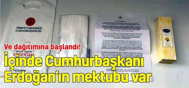 İçinde Cumhurbaşkanı Erdoğan'ın mektubu var…