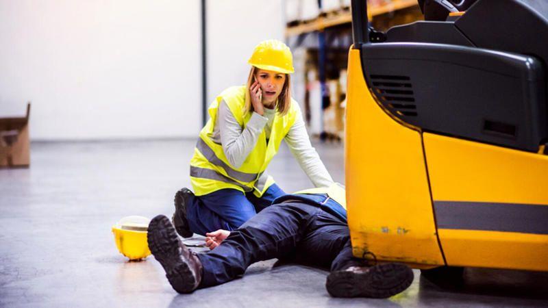 İş kazaları bildiğiniz gibi:24 saatte 2 yaralı