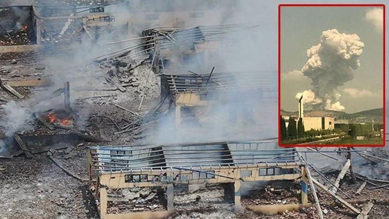 Hendek gerçekleri: Patlamaması mucizeymiş Havai fişek fabrikasının enkazı patlamanın ne kadar şiddetli olduğunu anlatıyor.