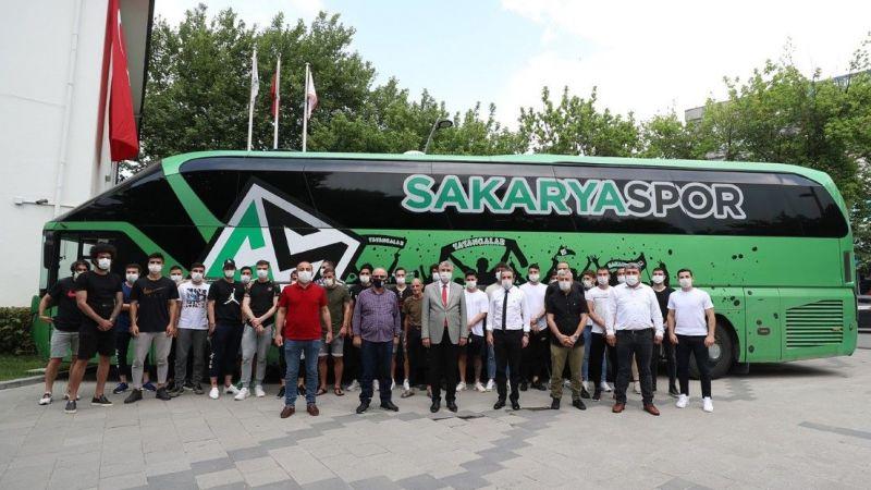 Yüce'den Sakaryaspor'a 100 bin TL'lik destek