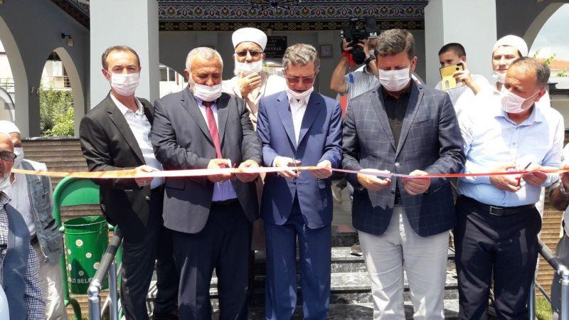 Hayırsever Fikri Bayrak tarafından yaptırılan Şadırvan açıldı
