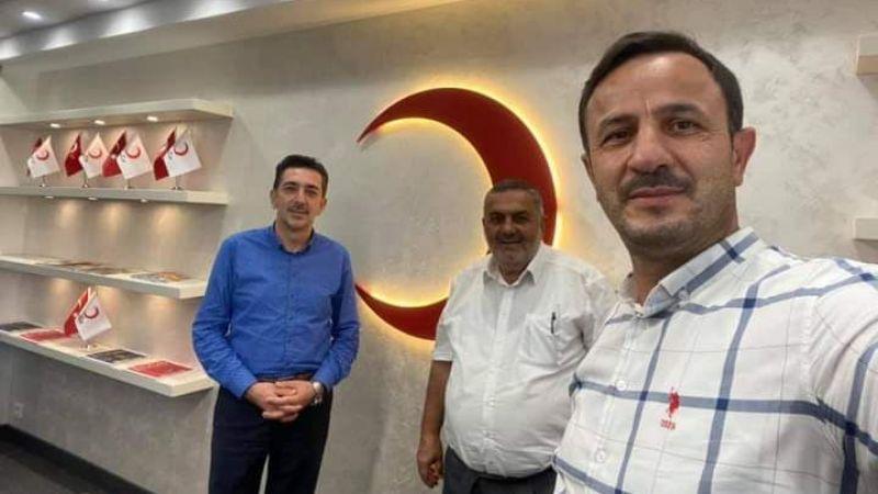 Belediye Başkan yardımcılarından Kızılay'a ziyaret