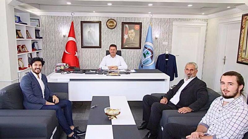 Modacı Ömercikoğlu'ndan başkan Soykana ziyaret