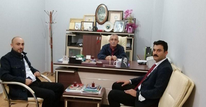 Belediye basın müdürü Atılgan'dan  Gazetecilere ziyaret