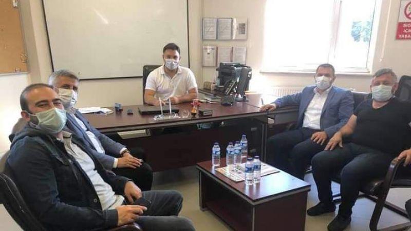 Başkan yardımcıları SEDAŞ'I ziyaret ettiler