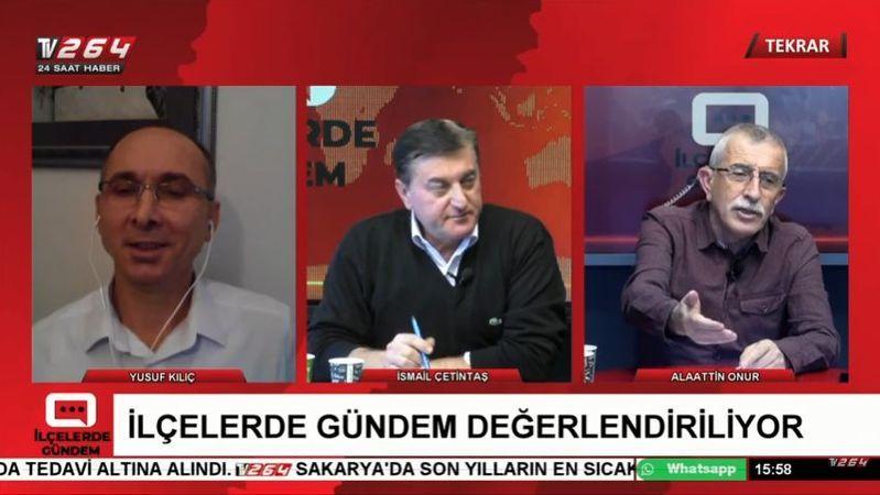 Akyazı'nın gündemi TV264'te ele alındı