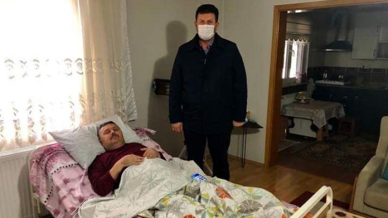 Başkan Soykan Muhtar Sayılı'yı ziyaret etti