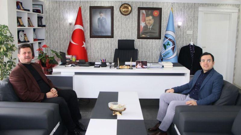 Kaymakam İçen 'den Başkan Soykan'a ziyaret