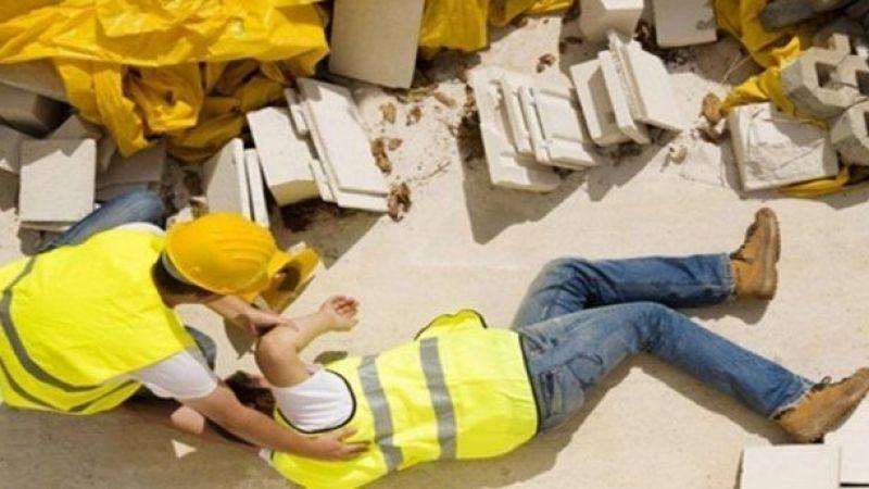 İş kazasında yaralanan 5 kişi Hastaneye kaldırıldı