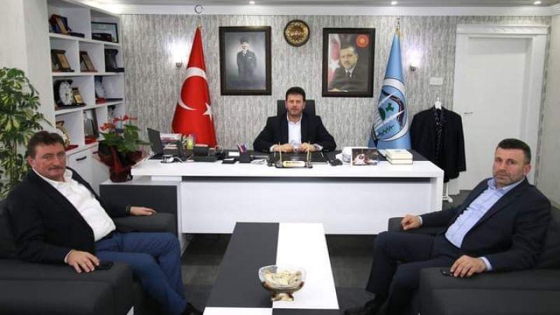 Soykan'ın ziyaretçileri Belediye Başkanlarıydı