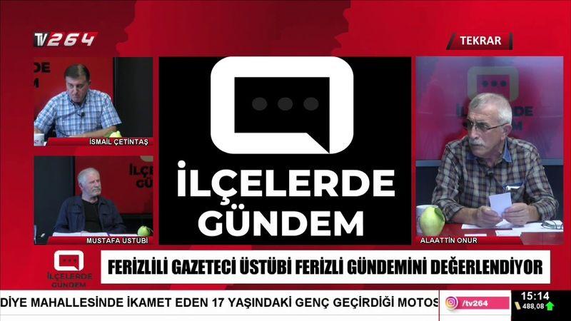 TV264'te İlçelerde Gündem bu gün saat 15.00'te