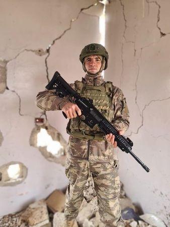 Taşburunlu Onbaşı Rasim İdlip'ten selam gönderdi