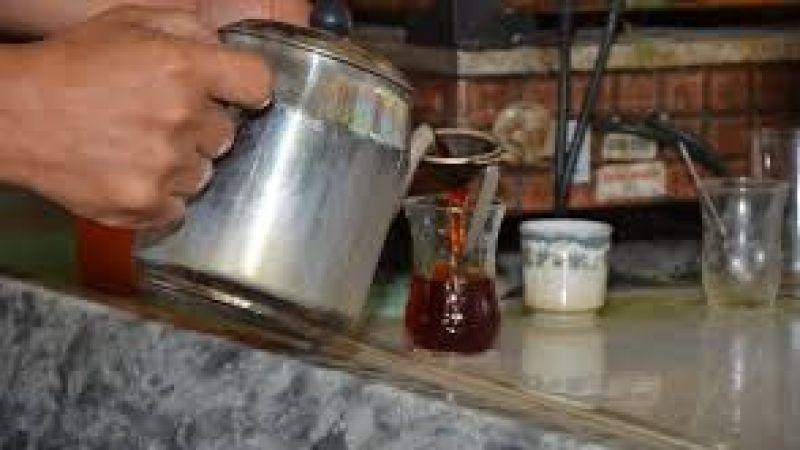 Kahvede çay keyfi pahalıya patladı