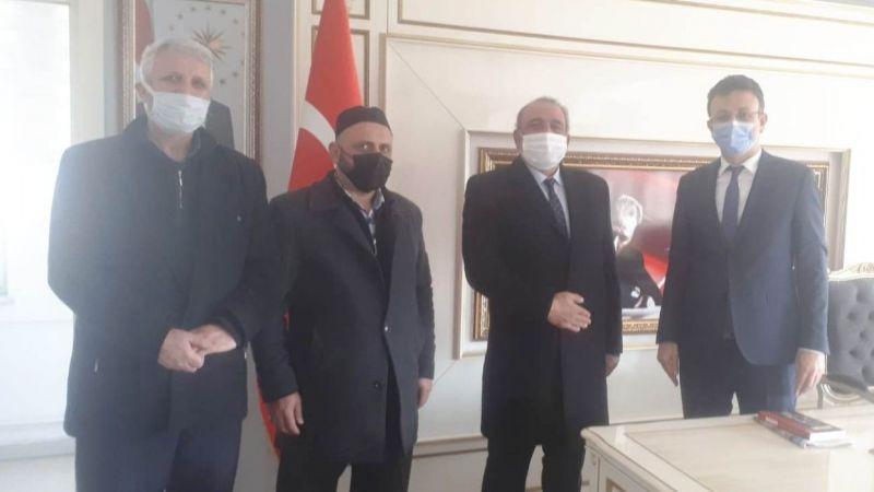 Saadet Erbakan'ı anma ziyaretlerine devam ediyor