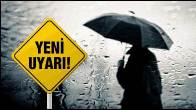 Meteoroloji'den yağış uyarısı! Sıcaklıklar 8 derece azalacak