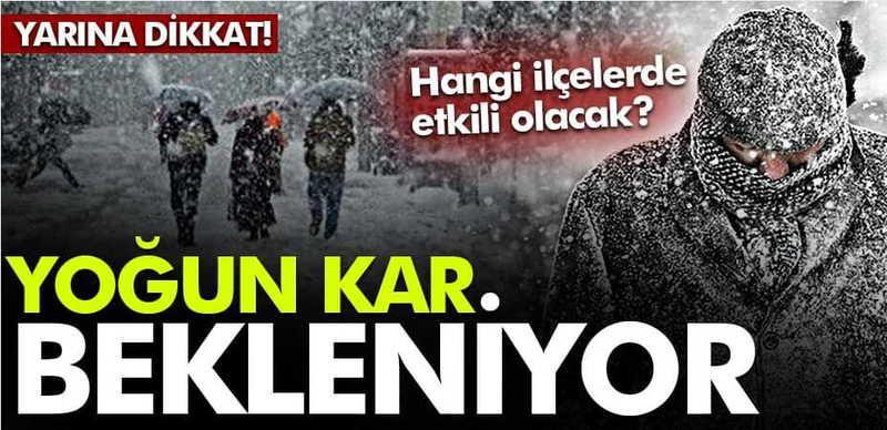 Sakarya'da hangi ilçelerde kar yağışı etkili olacak? Uyarılar peş peşe geldi