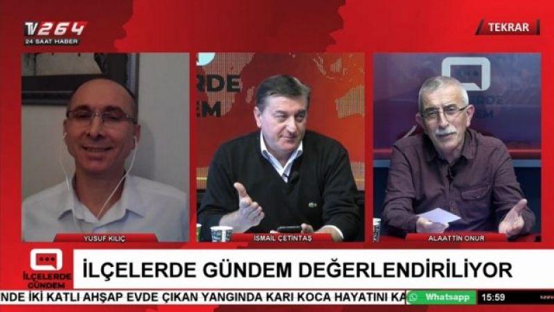 TV264'te İlçelerde Gündem'de bu gün saat 15.00'te