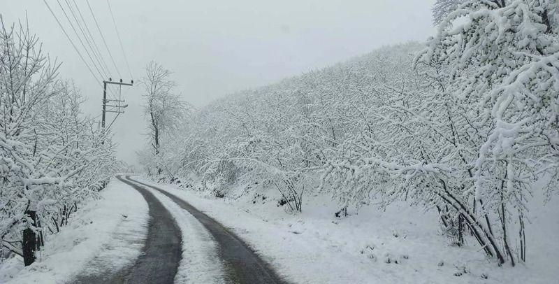 Nisan Yağmur'unu beklerken Kar geldi