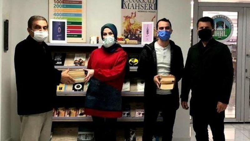 SABAH'tan Kütüphane 'ye Kitap desteği