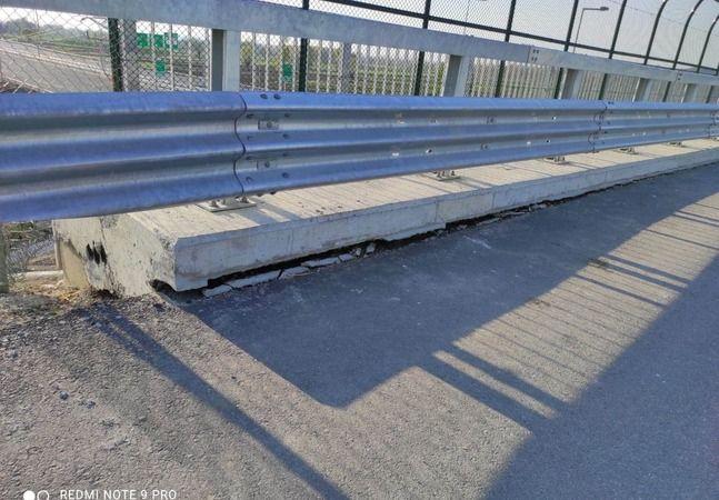 Yeni Otobanda Vakıf'tan sonra O köprüde de göçük oluştu