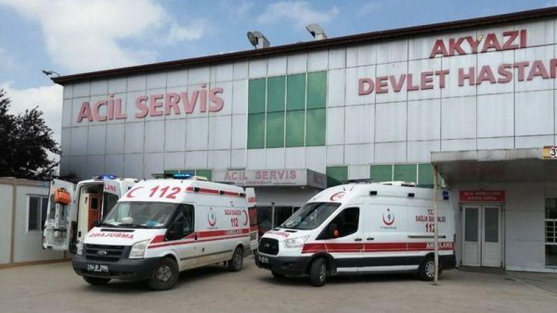 2 ayrı kazada yaralanan 4 kişi hastaneye kaldırıldı