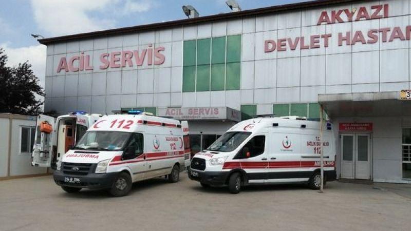 3 ayrı kazada yaralanan 6 kişi Hastaneye kaldırıldı