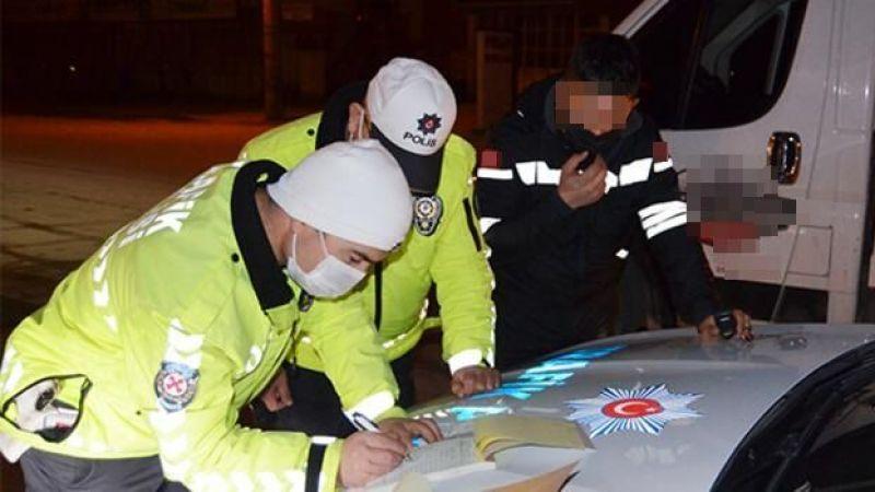Alkollü sürücü Polis engeline takıldı