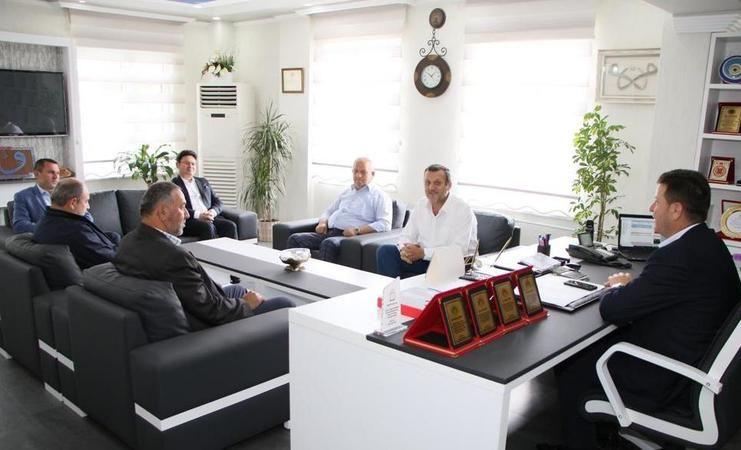 Başkan Soykan'dan plaketli uğurlama