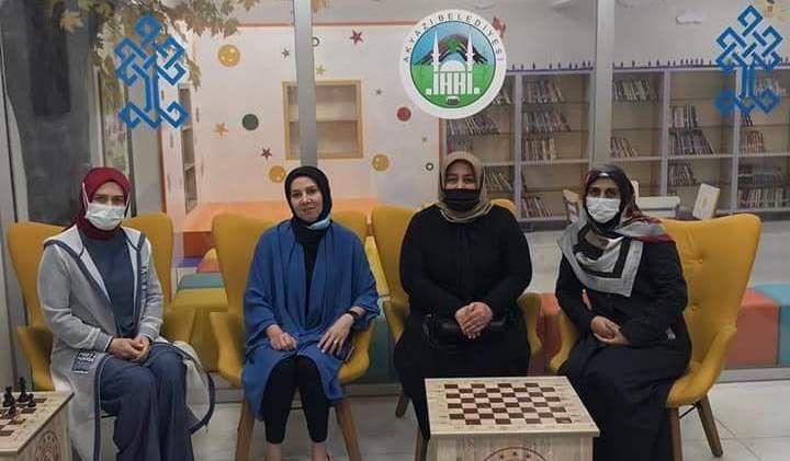 AK Parti Akyazı Kadın Kollarından ahde vefa ziyaretleri