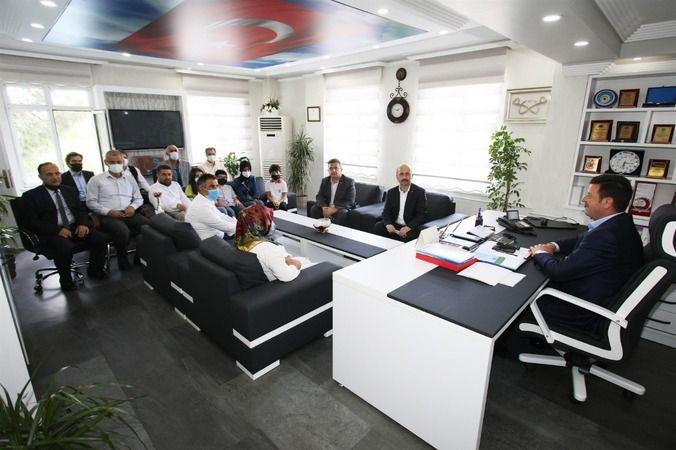 Başkan Soykan'dan başarılı öğrencilere ödül