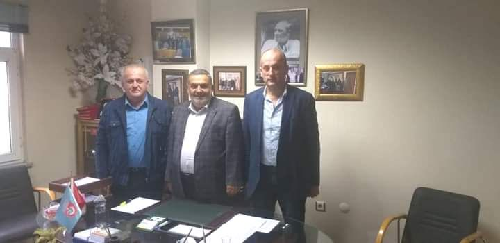Başkan yardımcısı Çakmak'ın oda ziyareti