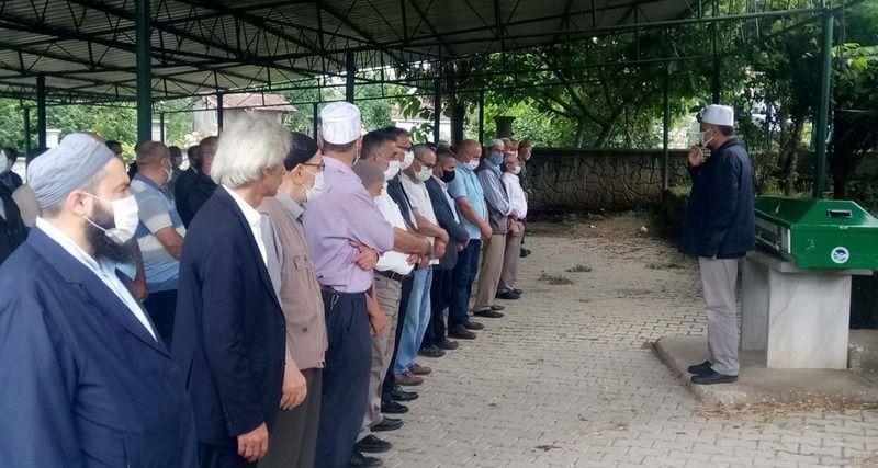 Mehmet Ateş Dualarla ebediyete uğurlandı