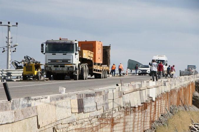 Vakıf'taki o köprü trafiğe açıldı