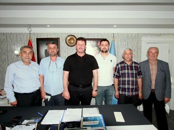 Muhtar Yıldız'dan Başkan Soykan'a ziyaret