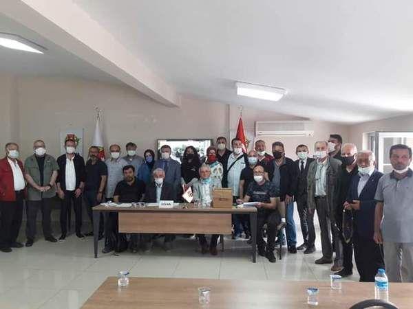 Sakarya Gazeteciler Cemiyeti kongresi yapıldı