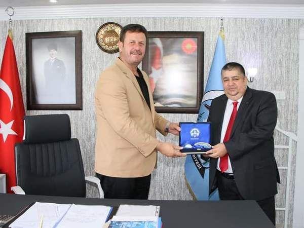 Başsavcı Gürel'den başkan Soykan'a veda ziyareti