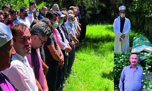 Mehmet Sanalan Dualarla ebediyete uğurlandı