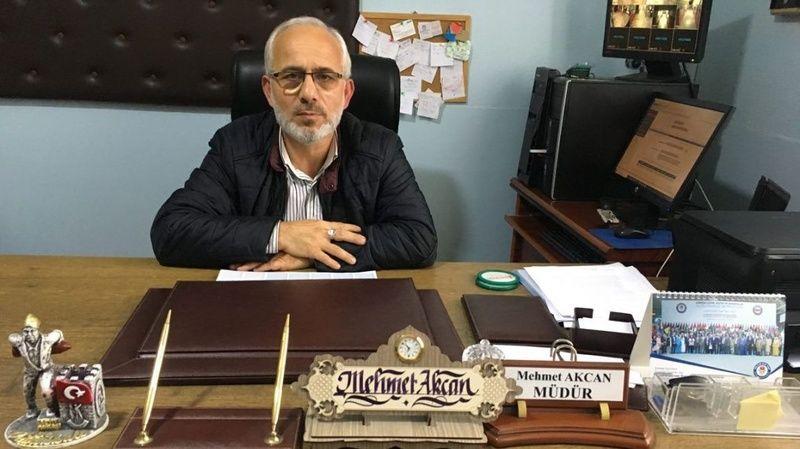 Mehmet Akcan Konuralp İlk Okul Müdürü oldu
