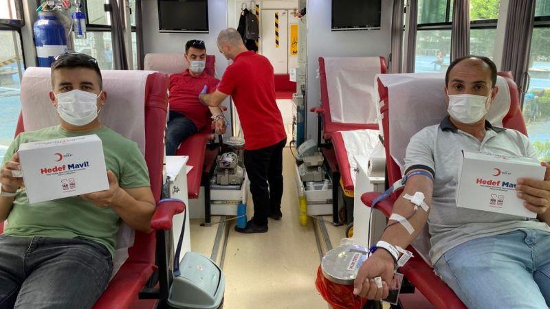 İki günde 104 ünite kan bağışı toplandı